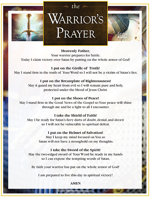 warriors-prayer-printable